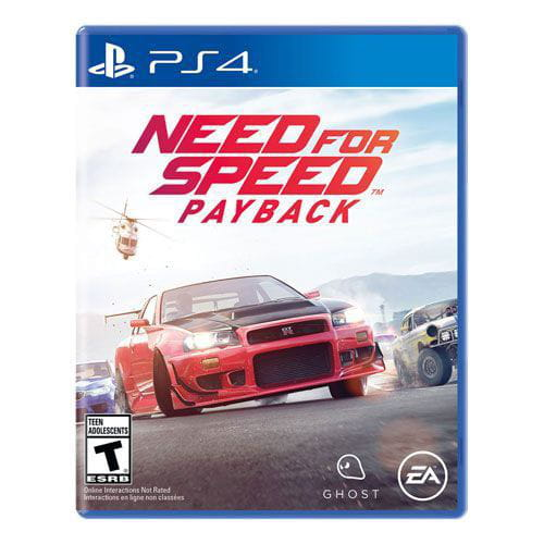 Jogo Need for Speed Payback PS4 Blu-ray