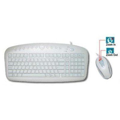 Kit Teclado + Mouse A4Tech Perola - KBS-2726W
