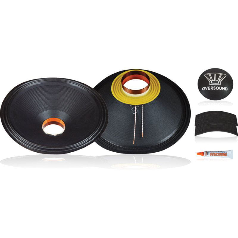 Kit P/ Reparo Sub Woofer 18 de 600wrms 8ohms - 18.2/600 Oversound