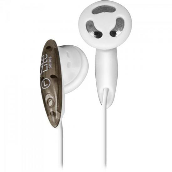 Headphone Lite EB101 Branco e Preto - 52571