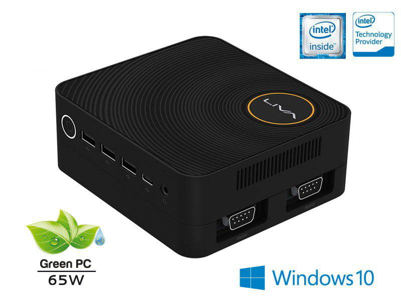 MINI PC LIVA ZE ULTRATOP DUAL CORE N3350 4GB SSD 30GB HDMI USB REDE WINDOWS 10