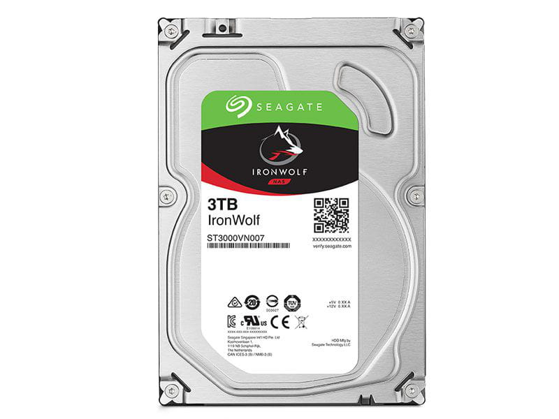 HD 3 TB Seagate Ironwolf ST3000VN007 5900rpm 64mb cache  sata 6gb/s