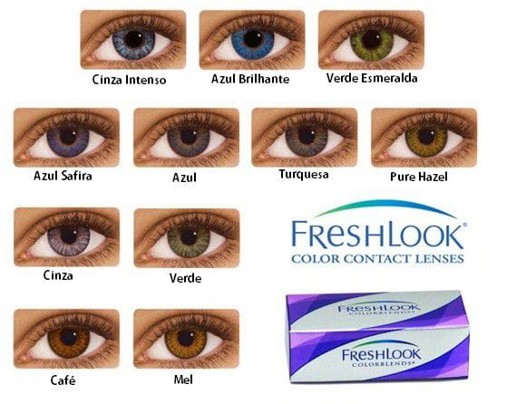e61fe0a1222c3 LENTES DE CONTATO FRESHLOOK COLOR BLENDS - Smart Lentes