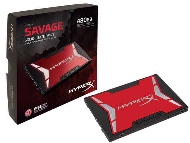 Ssd gamer hyperx shss37a/480g savage 480gb 2.5