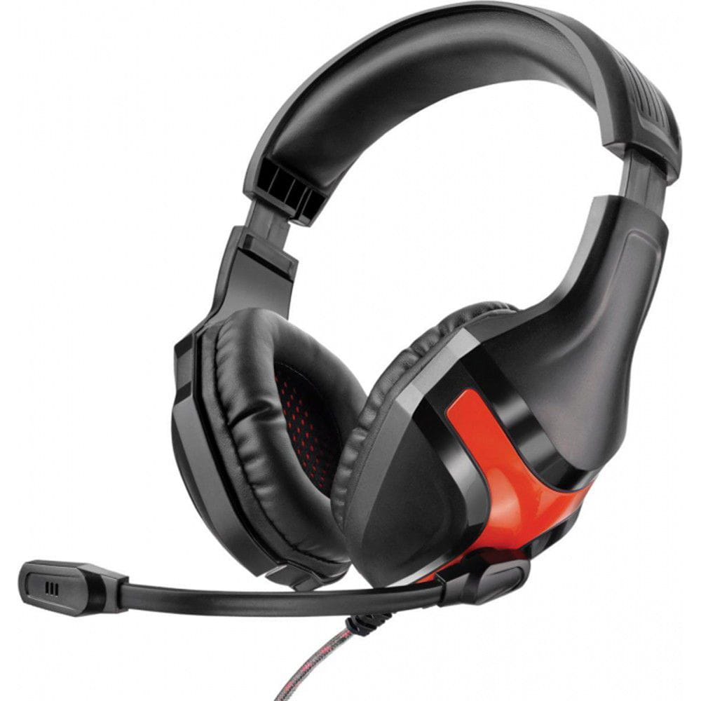 Headset Multilaser Warrior Preto - PH101