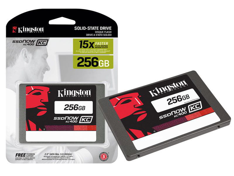 HD SSD 256GB Kingston Corporativo KC400 2.5
