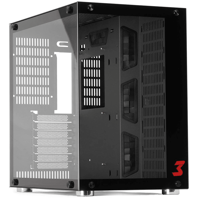 Gabinete DT3 Sports Hyperspace Mid Tower Frontal e Lateral em Vidro - 11862-8