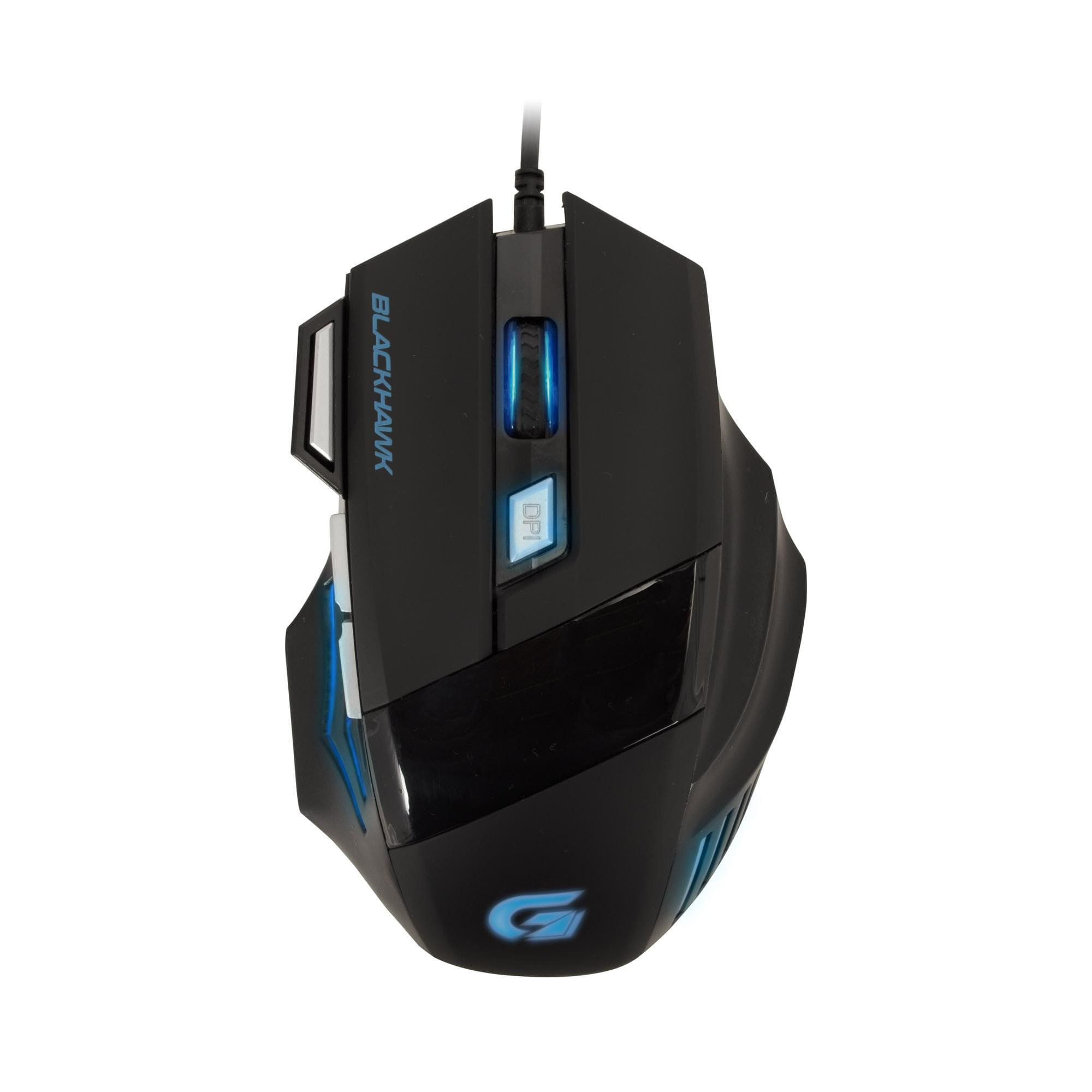 Mouse Gamer Fortrek  Black Hawk 2400DPI Preto - OM-703