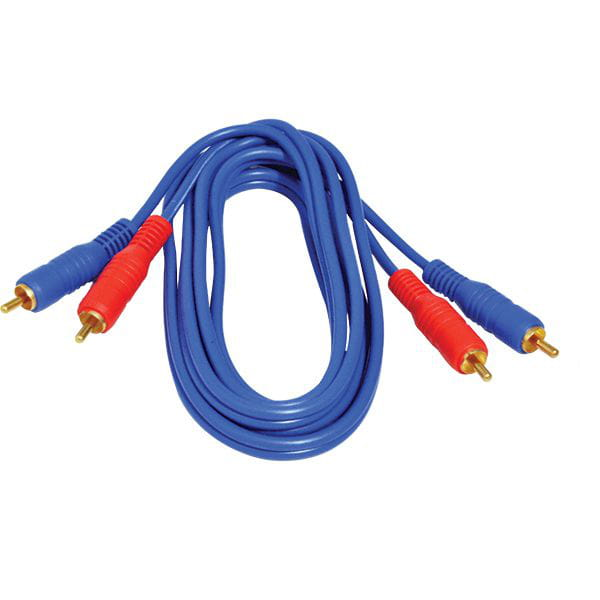Cabo 2 + 2rca 1,80m Azul Gold Loud