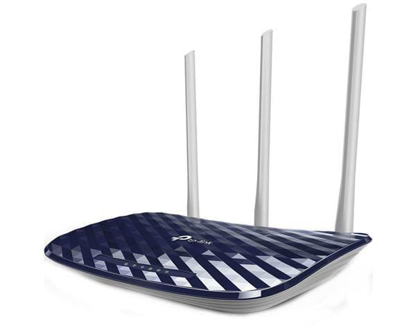 Roteador tp-link archer c20 (br) wireless dual band ac750mbps 10/100mbps