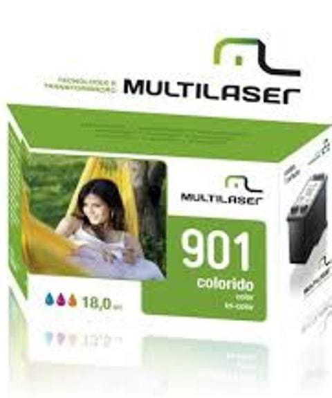 Cartucho compat. Hp 901 Color- Multilaser Co181