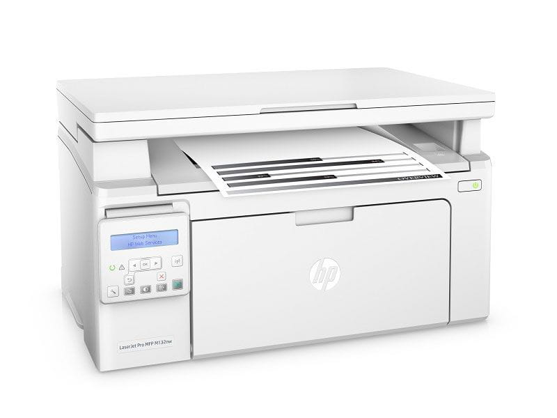 Multifuncional laserjet mono hp g3q62a#696 pro m132nw imp/copia/dig/rede/wifi 23ppm