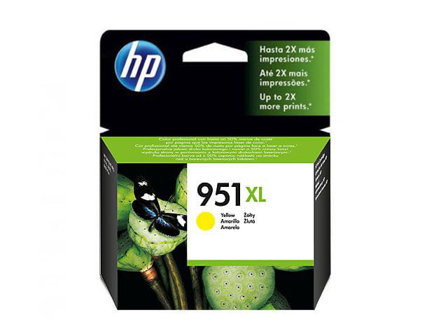 Cartucho de tinta officejet hp suprimentos cn048ab hp 951xl amarelo 17 ml