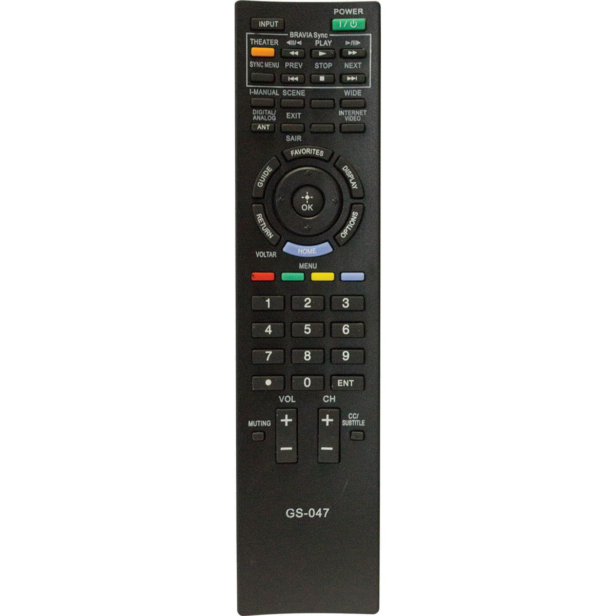 Controle Remoto P/ Tv Lcd Sony Gs-047 Gigasat
