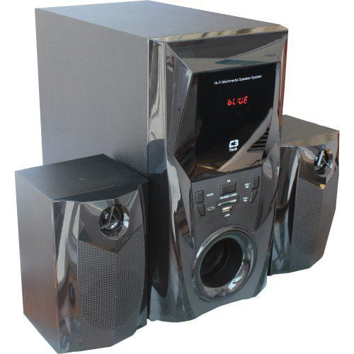 Caixa Multimídia C3Tech 2.1 com Subwoofer 44W Rms Preto - SP-365