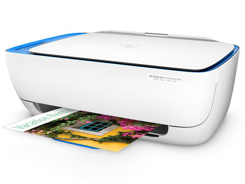 Multifuncional jato de tinta color hp f5s45a#ak4 deskjet ink advantage 3636 imp/copia/digit/wifi 20ppm