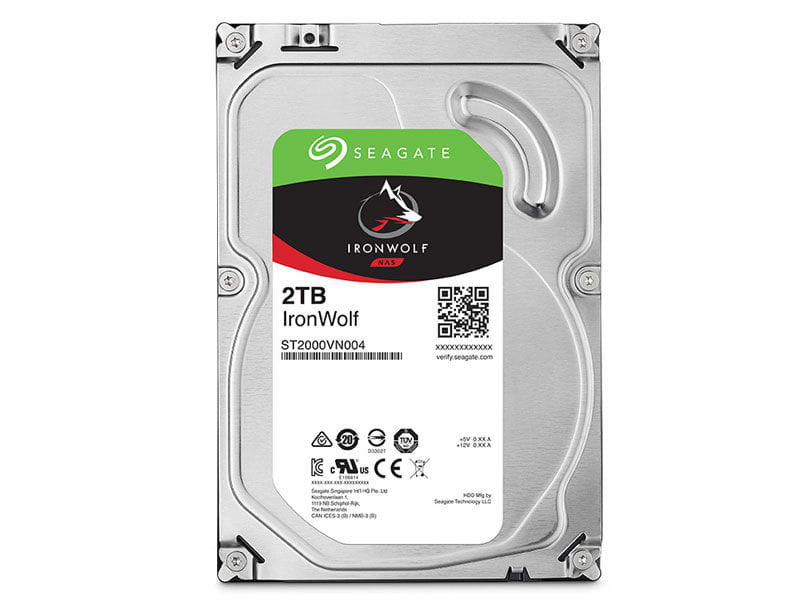 HD 2 TB Seagate Ironwolf ST2000VN004 5900rpm 64mb cache  sata 6gb/s