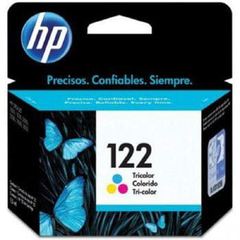 Cartucho de tinta hp  n  122 color  - ch562hb