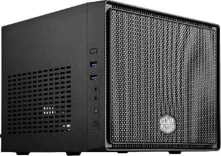 Gabinete cubo mini-itx elite 110 mini cubo preto - rc-110-kkn2
