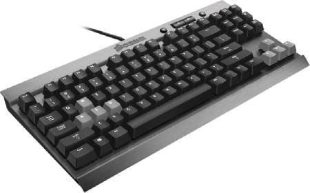 Teclado Gamer Corsair Mecânico K65 Cherry Mx Red - CH-9000040-NA
