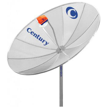 Antena century 1.50mt monoponto super digital