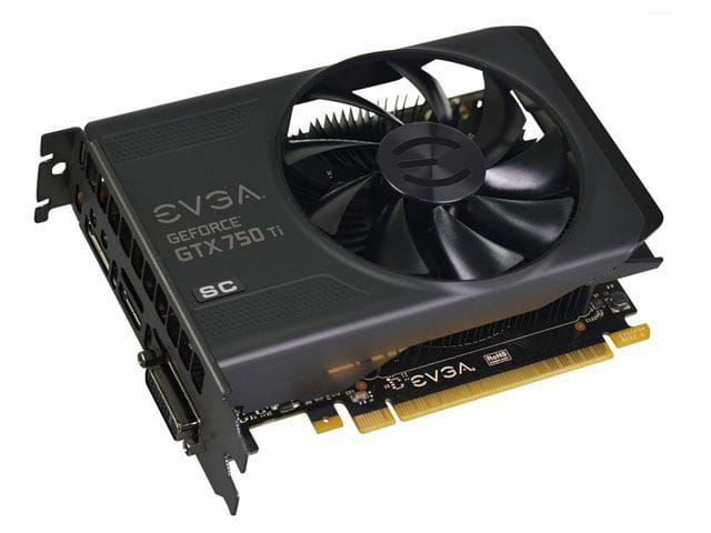 Geforce evga gtx performance nvidia gtx 750ti superclocked 2gb ddr5 128bit 5400mhz 1176mhz 640 cuda cores dual dvi  mini hdmi