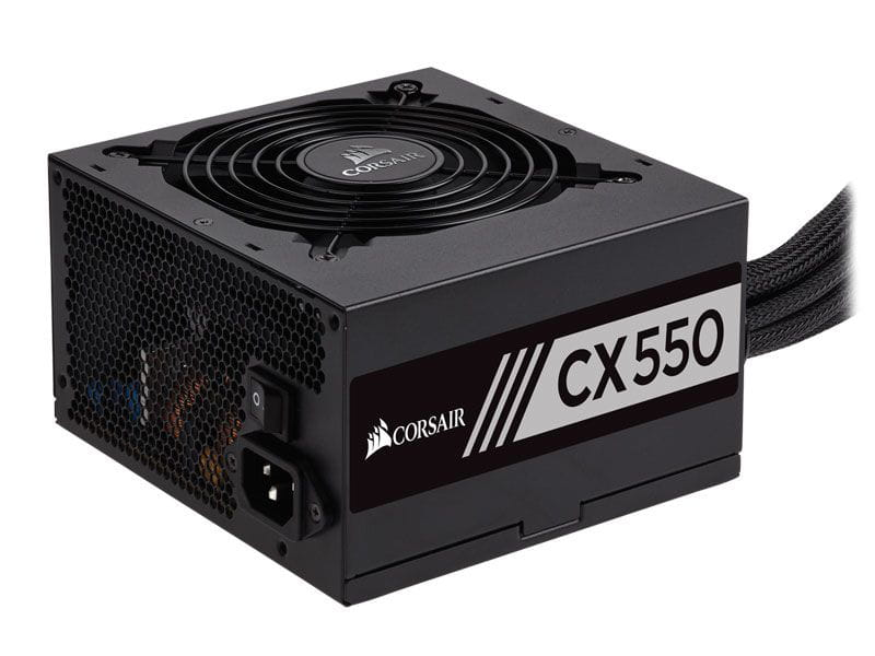 Fonte 550W Corsair CX550 80Plus Bronze PFC Ativo - CP-9020121-WW