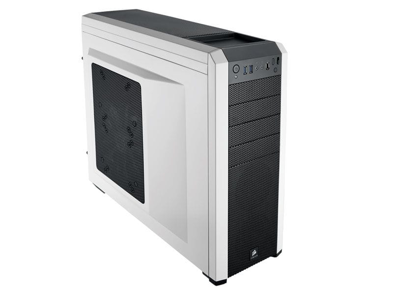 Gabinete gamer corsair cc-9011013-ww carbide series 500r branco