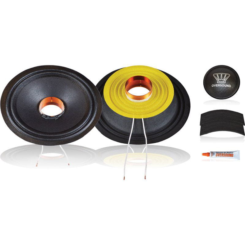 Kit P/ Reparo Woofer 8 Pol. de 130wrms 4ohms - 8 Steel 150 Oversound