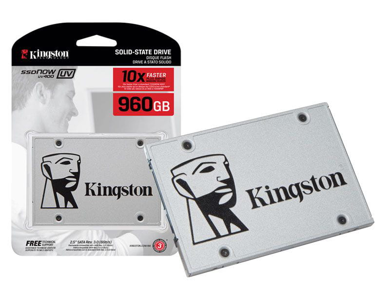 Ssd desktop notebook ultrabook kingston suv400s37/960g uv400 960gb 2.5