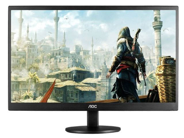Monitor led 23 aoc m2470swd2 1920 x 1080 full hd widescreen vga  dvi  vesa