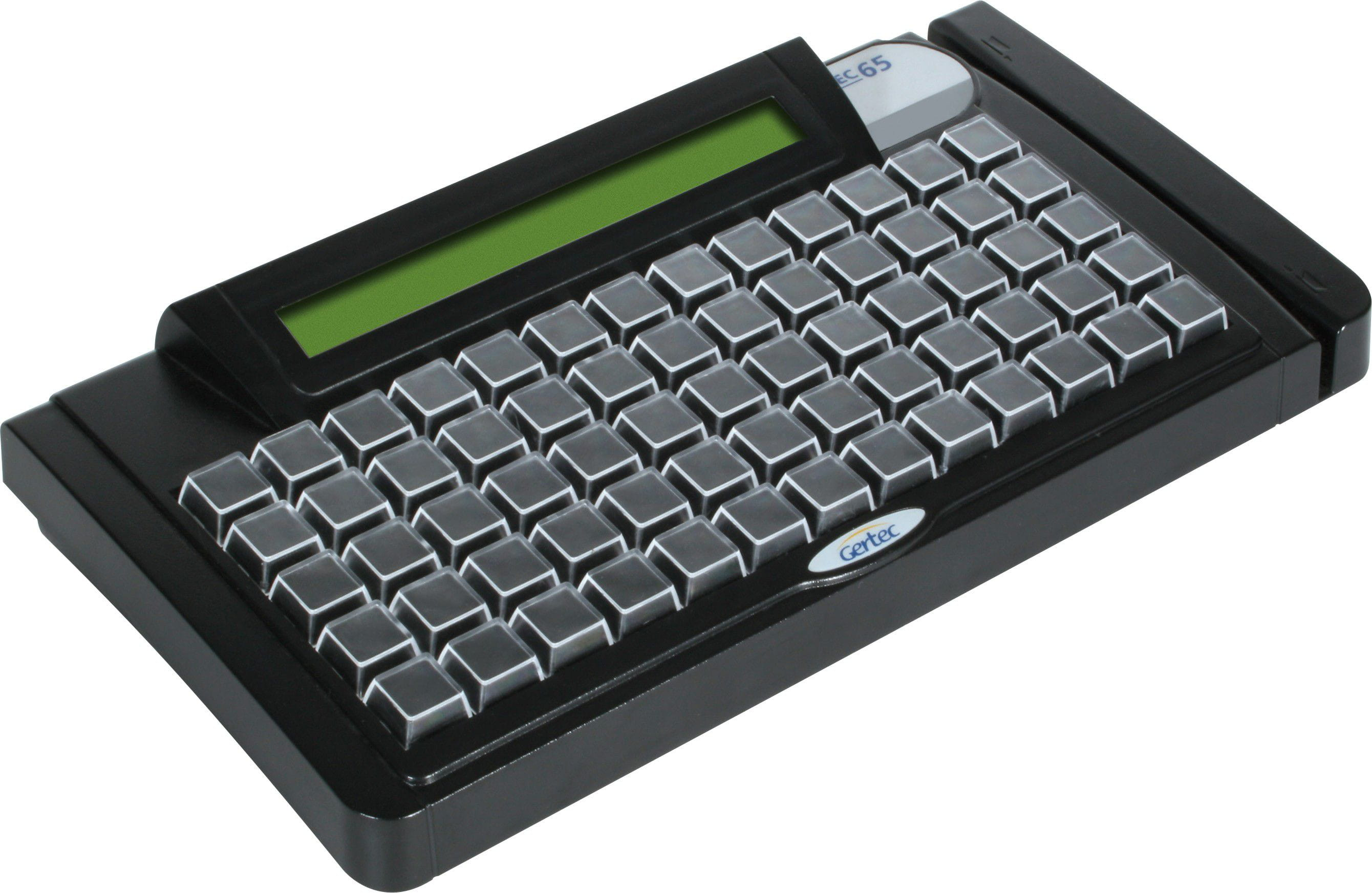 Teclado Gertec PDV TEC-E 65 com Display PS2
