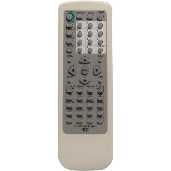 Controle Dvd Cce Rcp Dvd835dv
