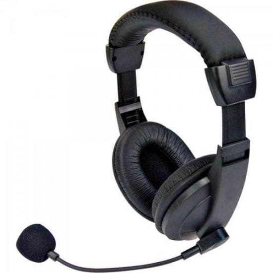 Headset Voicer Confort MI-2260 Preto C3 TECH