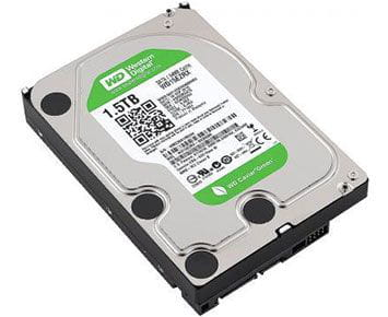HD Interno Western Digital Green 1.5TB SATA Desktop  (WD15EZRX-00DC0B0)