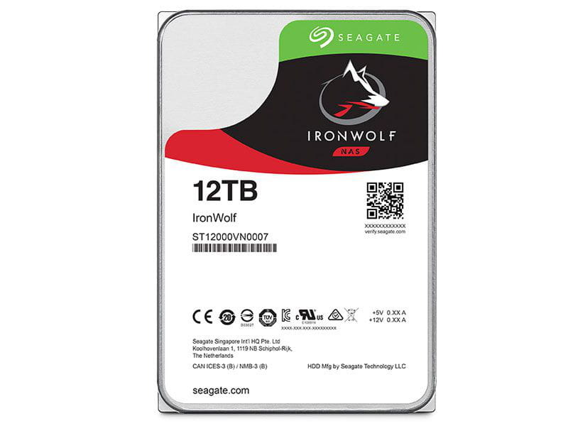 HD 12 TB Seagate Ironwolf ST12000VN0007 12 tera 7200rpm 256mb cache sata 6gb/s