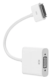 Cabo adaptador Apple Dock 30 Pinos para VGA