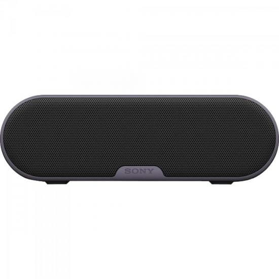 Caixa de Som Sony Multimídia 20W Wireless Bluetooth/NFC Preta - SRS-XB2/B