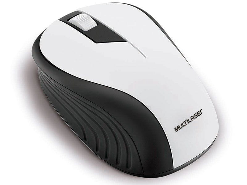 MOUSE MULTILASER WIRELESS ANATOMICO 2.4GHZ SEM FIO 1200 DPI USB REF:MO216