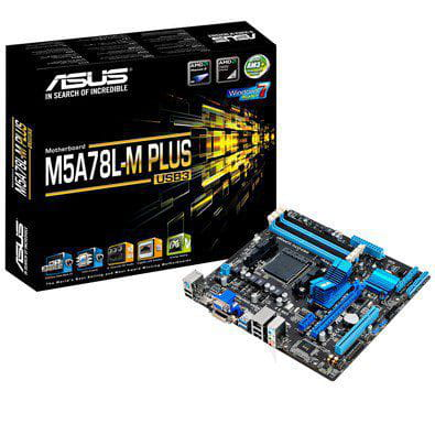Placa Mãe AM3+ Asus M5A78L-M PLUS USB3.0