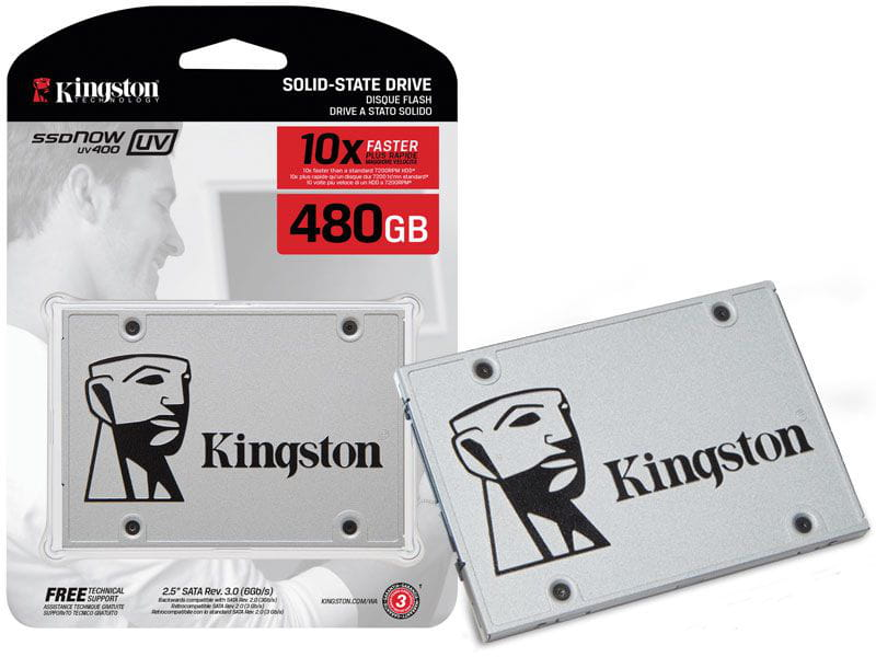 SSD 480GB Kingston UV400 2.5