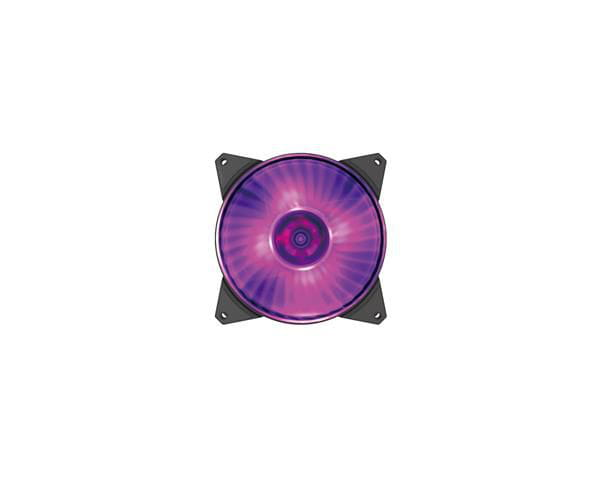 Fan cooler para gabinete cooler master masterfan mf140r rgb 140mm air balance - r4-140r-15pc-r2