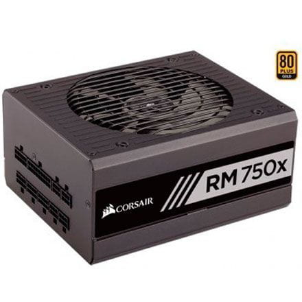 Fonte 750W Corsair RM750X 80Plus Gold ATX Modular - CP-9020092-WW