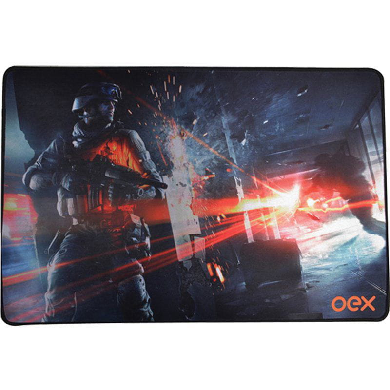 Mouse Pad Gamer Battle Mp301 Action Oex