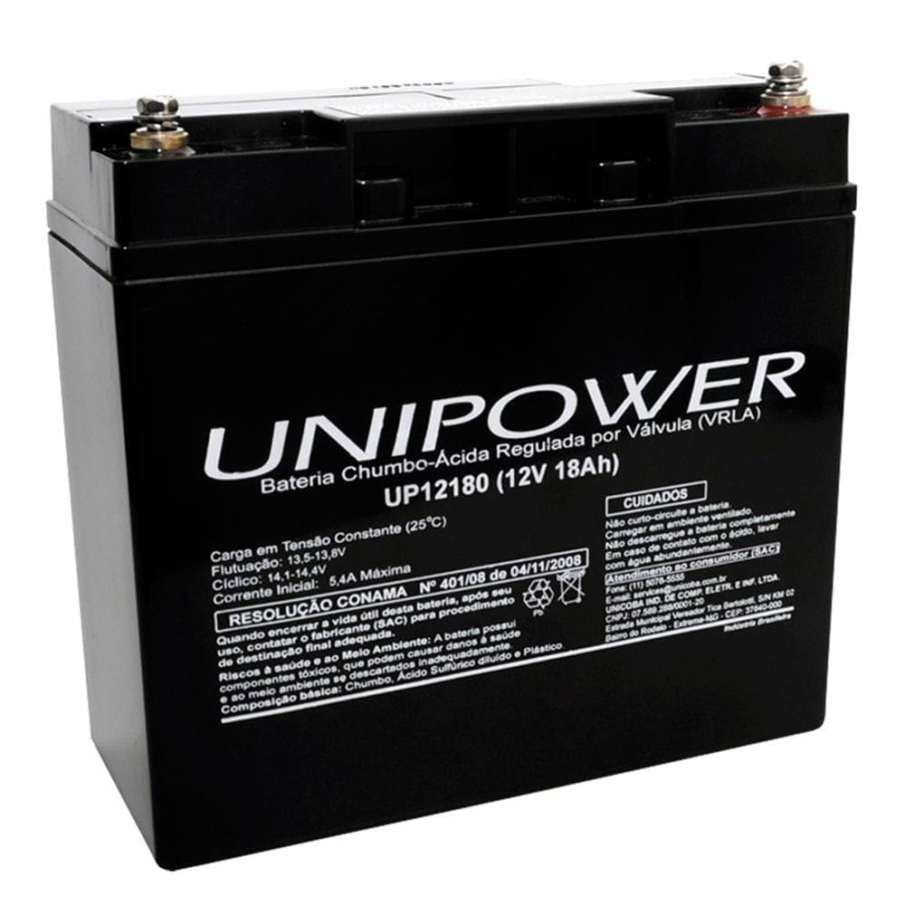 BATERIA UNIPOWER 12V 18AH M5 UP12180