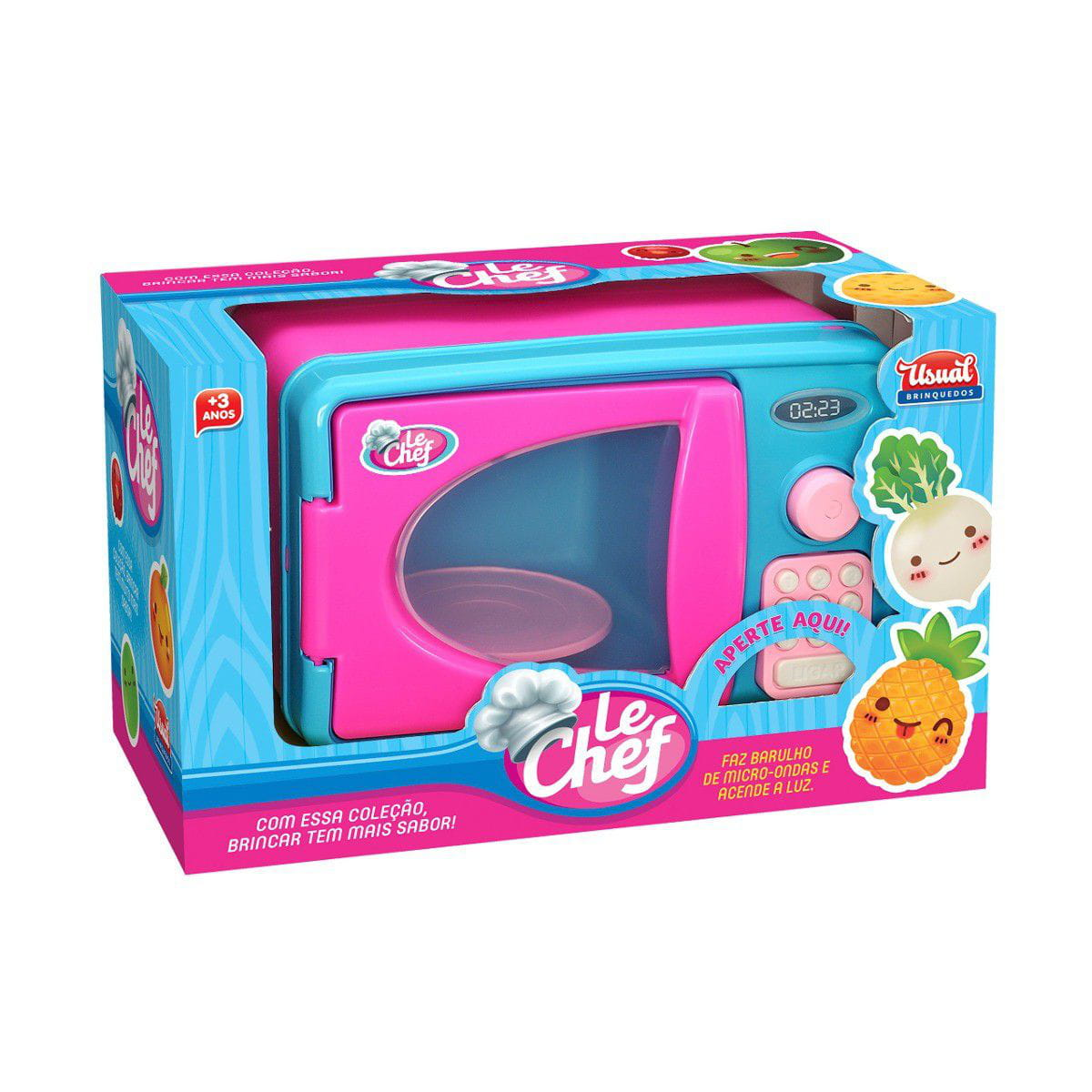 Forno Microondas Infantil Baby Kitchen - Usual