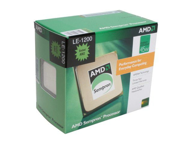 Processador AMD Sempron LE-1200 Sparta Single-Core 2.1GHz Socket AM2 45W  SDH1200DEBOX