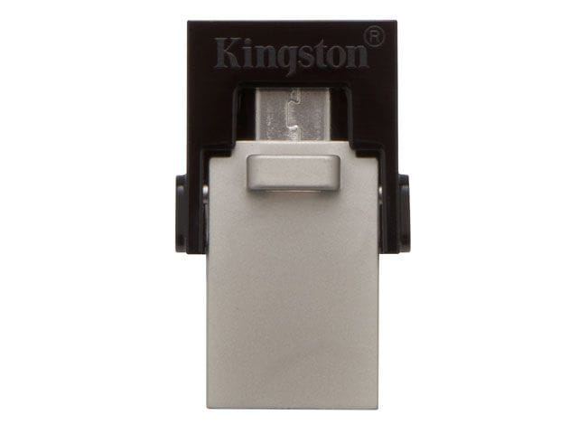 Pen drive smartphone kingston dtduo3/32gb dt micro duo 32gb usb e micro usb 3.0 otg