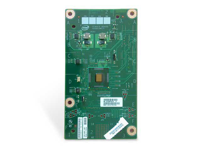 Placa de rede server intel axxgbiomezv dual gigabit ethernet i/o p/ server com placa s5520vi s2600ki