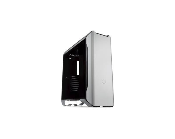 Gabinete cooler master mastercase sl600m prata, atx, lateral em vidro temperado - mcm-sl600m-sgnn-s0